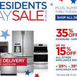 Appliances Presidents Day Sale